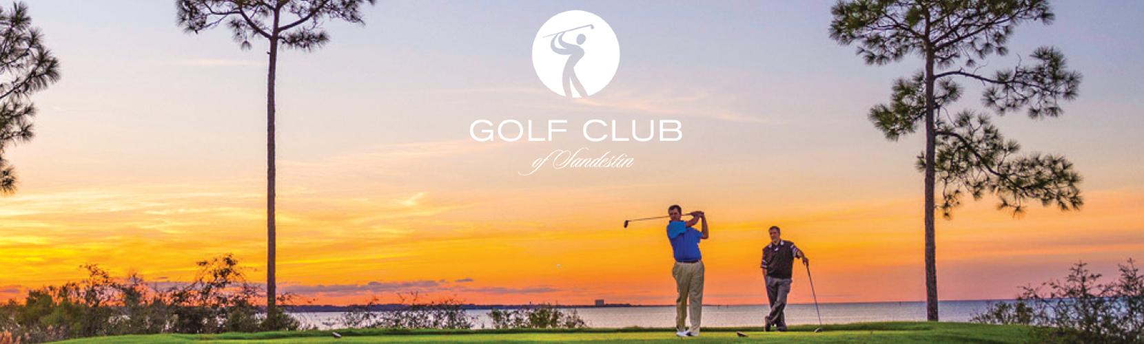 Sandestin Golf Club Two Men Golfing